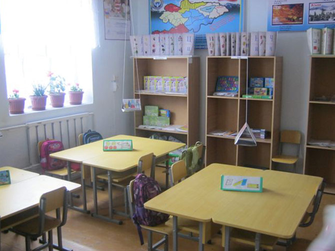 Project №3. The School № 33 name of R. Ismanaliev in Suzak region, Jalalabat oblast.