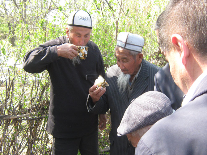 Project № 6. Repair of water supply system in Kyzyl-Koshchu village, Osh region