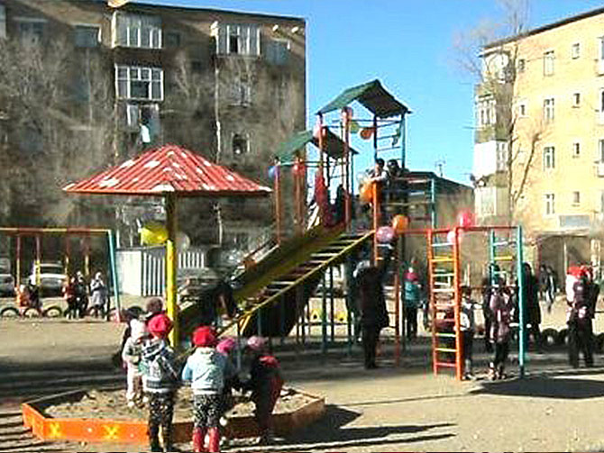 Project № 4. The Playground in Talac city, Talas oblast